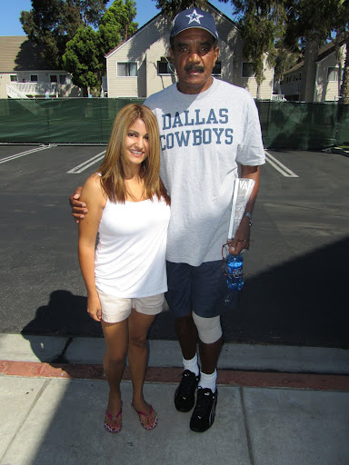 Calvin Hill at Dallas Cowboys training camp in Oxnard, CA
