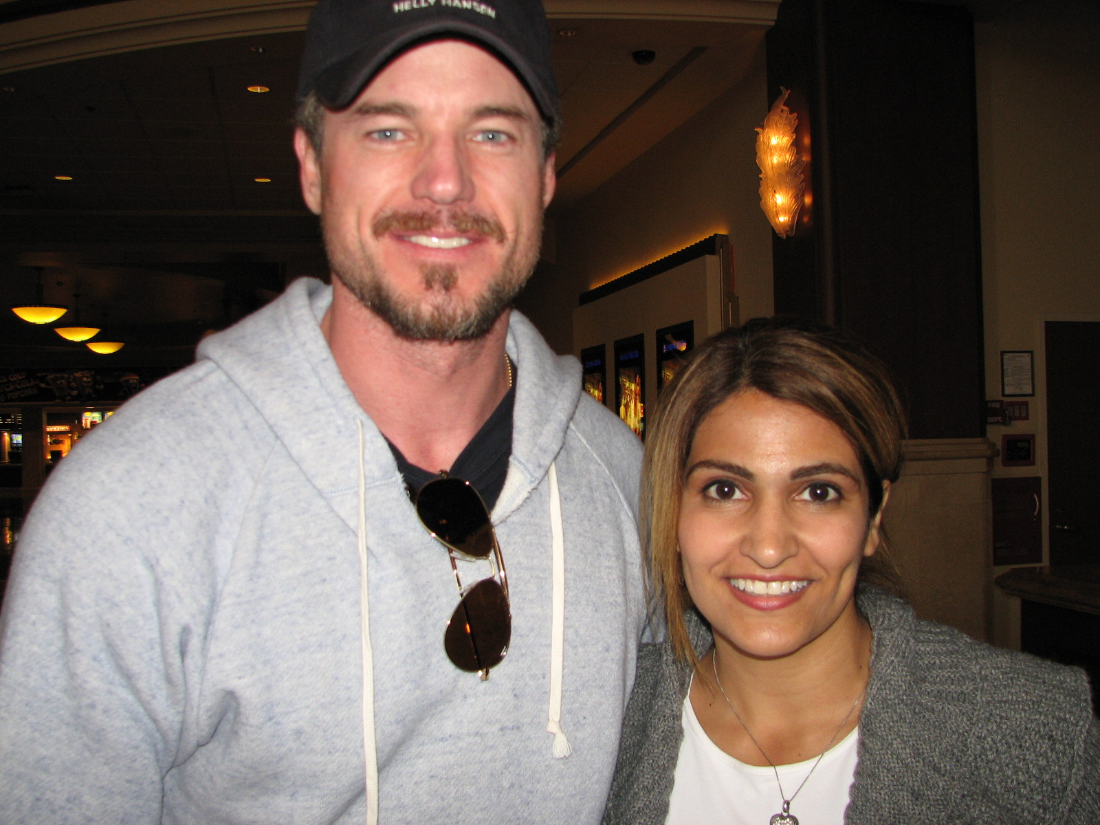 Eric Dane Of Greys Anatomy Takes Wife Out For A Movie Celebmagnet