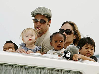 Brad Pitt, Angelina Jolie and kids have apparently commandeered the