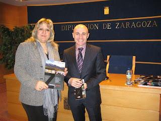 María José Navarro, diputada de Turismo y José Francisco García, gerente del Patronato Provincial de Turismo