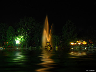 Cismigiu noaptea/ Night in Cismigiu