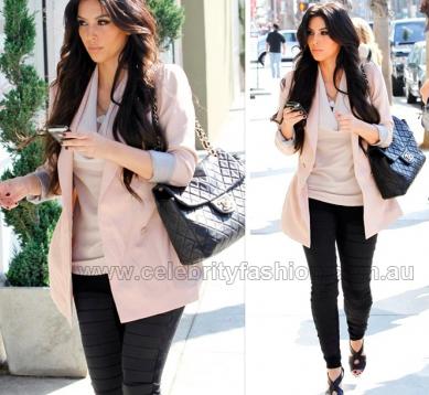 Kardashian Blazer on Fashionista  Kim Kardashian Blazer Style