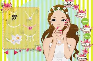 Vestir, peinar y maquillar a la novia