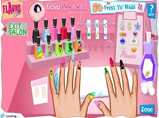 Juegos De Peinar Y Pintar - Juegos de Vestir y maquillar y pintar uñas