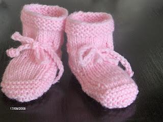 strikket babysokker opskrift
