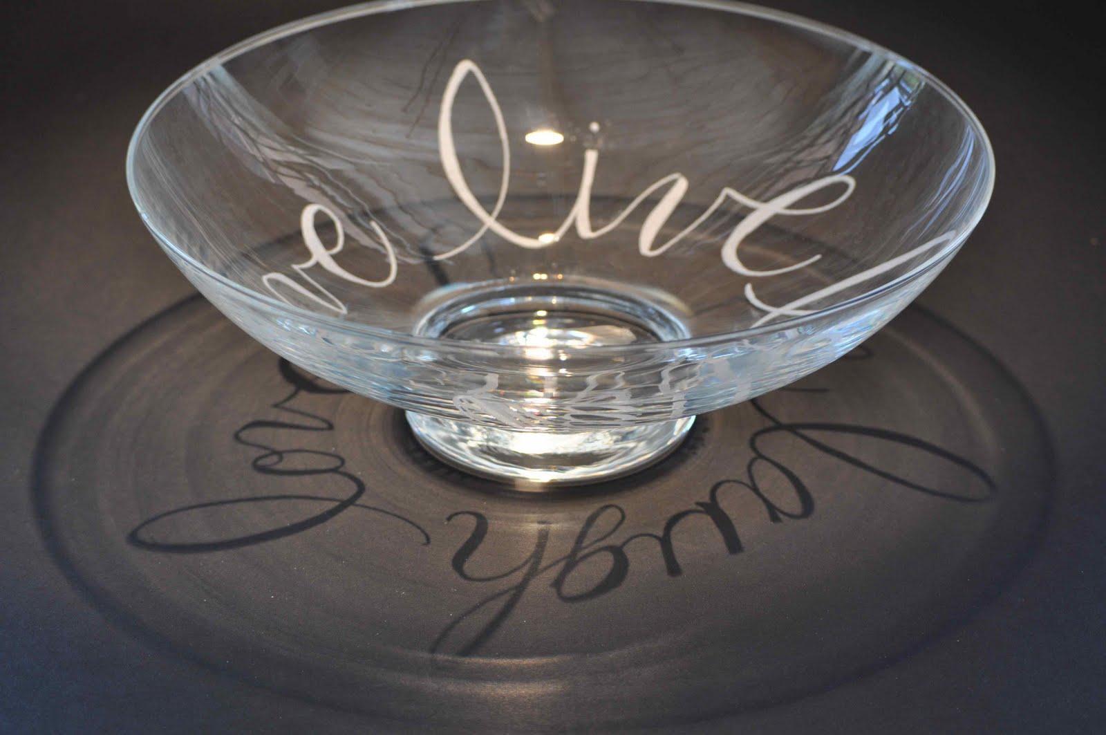 Marlis cornett calligraphy and glass
