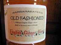 home-made ginger beer labels