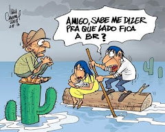 Chove chuva, chove sem parar... - Postado por Ivan Cabral - charge-chuvas_br