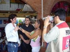 SOCIALIZACION DE LA PROPUESTA PEDAGOGICA ANTE LOS MEDIOS DE COMUNICACION