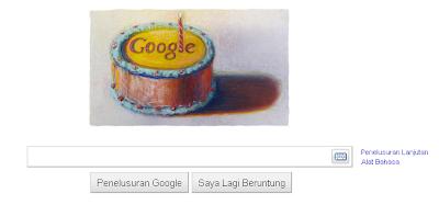 Selamat Hari Ulang Tahun Google ke-12 Oleh Wayne Thiebaud