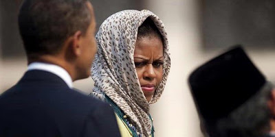 Kerudung Michelle Obama