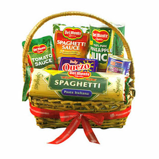 Image of Del Monte Basket Galore - SendRegalo.com ~ Send flowers to the Philippines, Send Roses to the Philippines