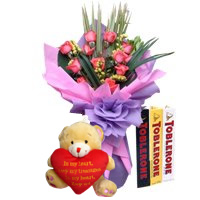 Image of Toblerone Happy - SendRegalo.com ~ Send flowers to the Philippines, Send Roses to the Philippines