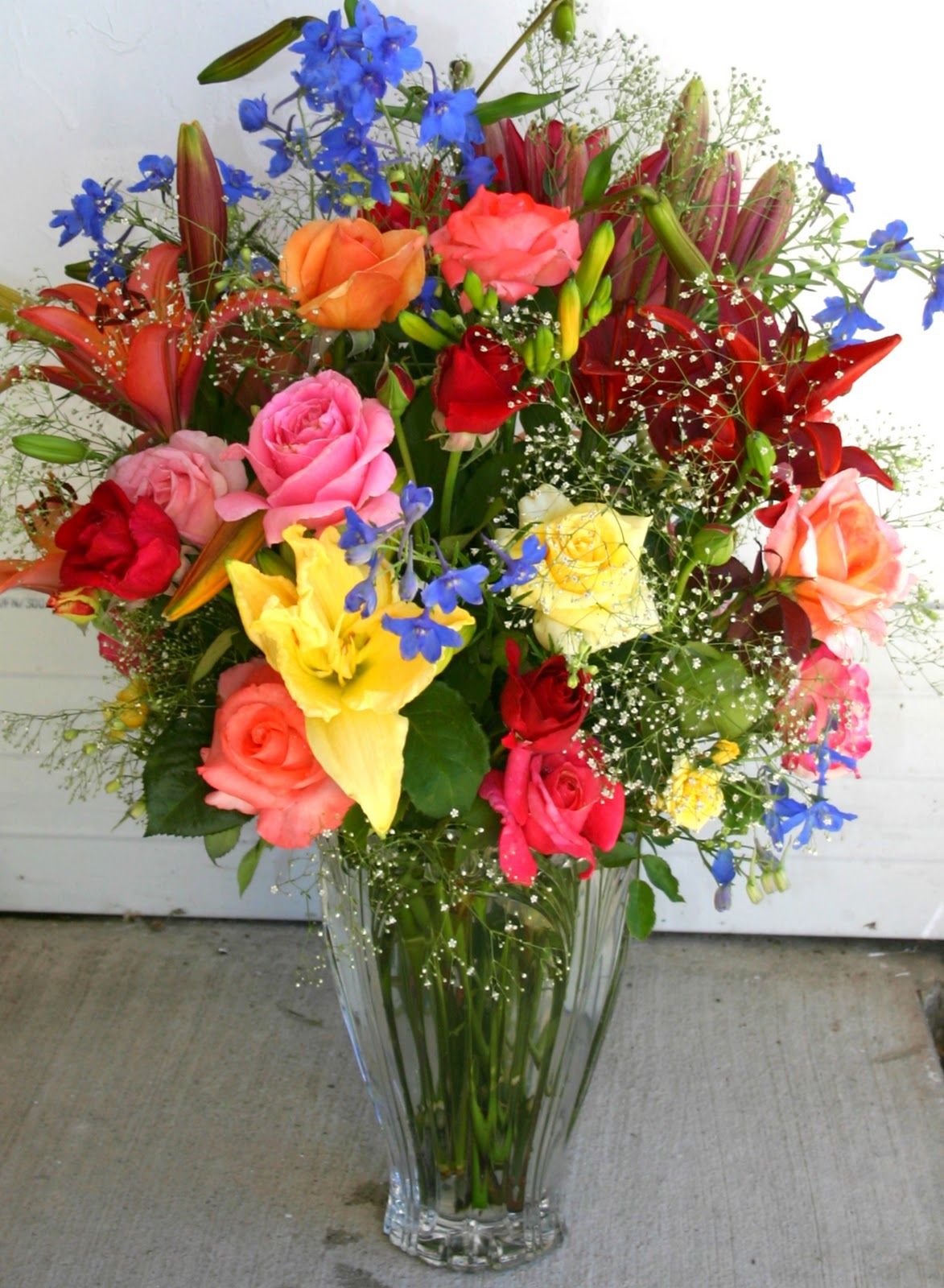Flower Arrangements Should Mimic Your Flower Beds Sowing