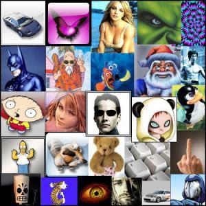 1500 various animated non animated avatars