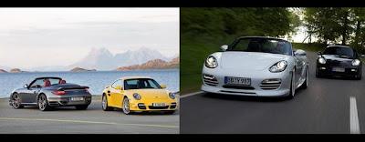 Porsche 911 Turbo 2010 & Porsche Boxster 2009