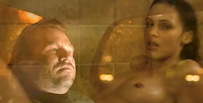 Eve Mauro full frontal Megan Brown CHAOS EXPERIMENT STEAM shower sex tits Val Kilmer