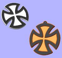 cross dxf,autocad files,Cross/Pendant