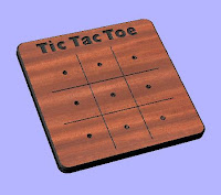 Tic-Tac-Toe CNC DXF