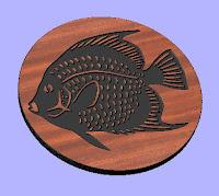 Fish 4 CNC DXF