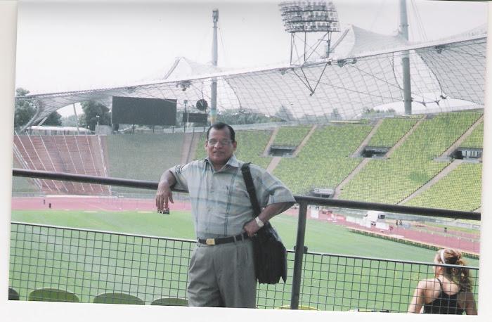 في ملعب بايرن ميونيخ بألمانيا