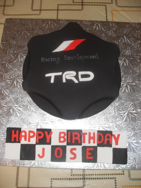 Jose B-Day Cake Oil Cap