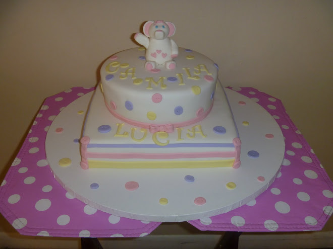 Luci's Baby Shower Cake