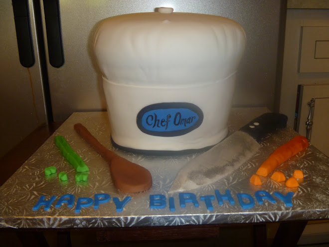 Chef Hat Birthday Cake