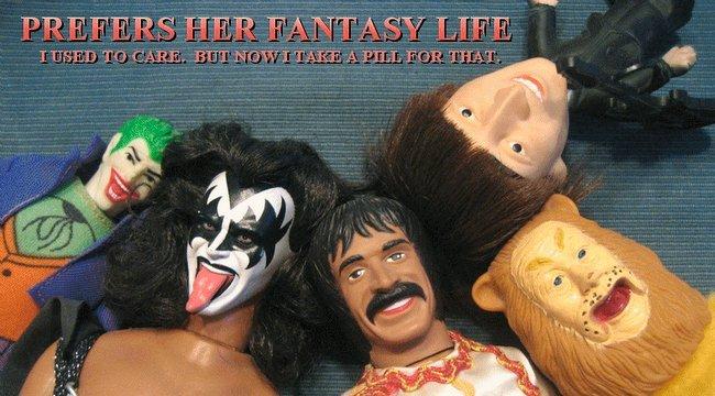 Prefers Her Fantasy Life