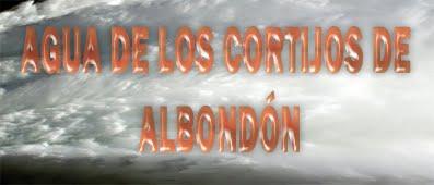 AGUA DE LOS CORTIJOS DE ALBONDÓN.