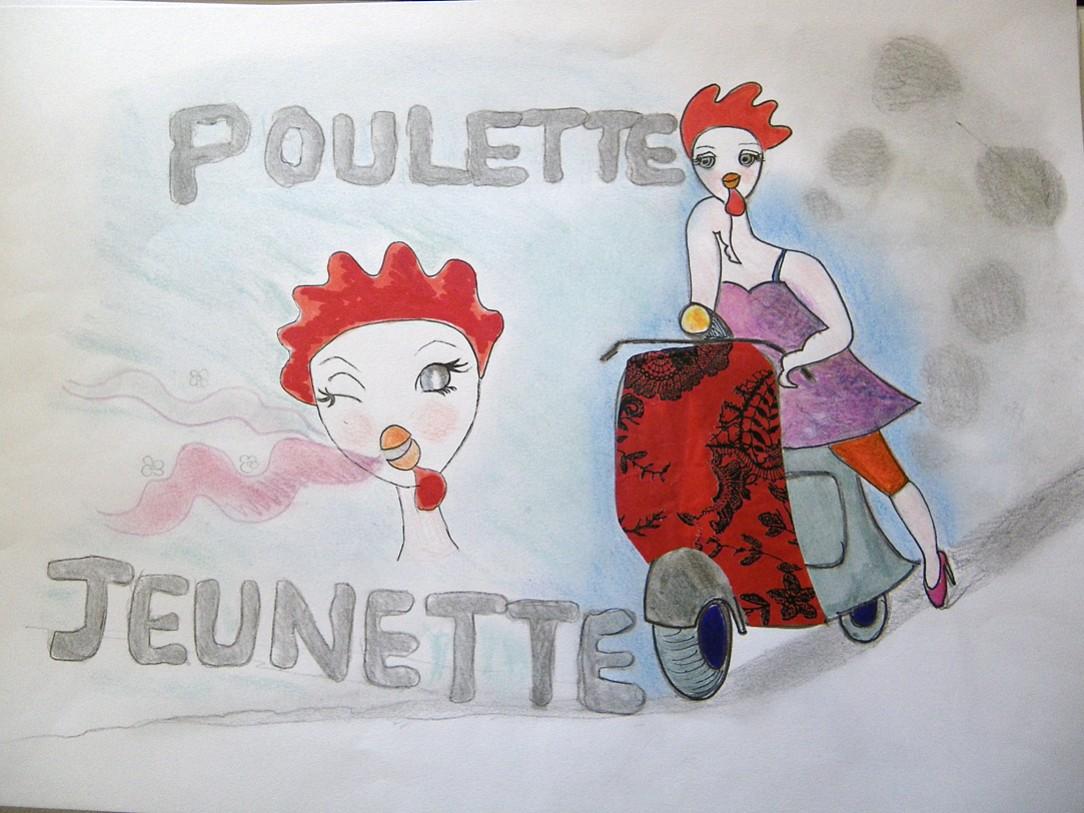 bienvenu a tous - Page 3 Poulette+jeunette