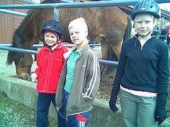 6.  Horsebackriding