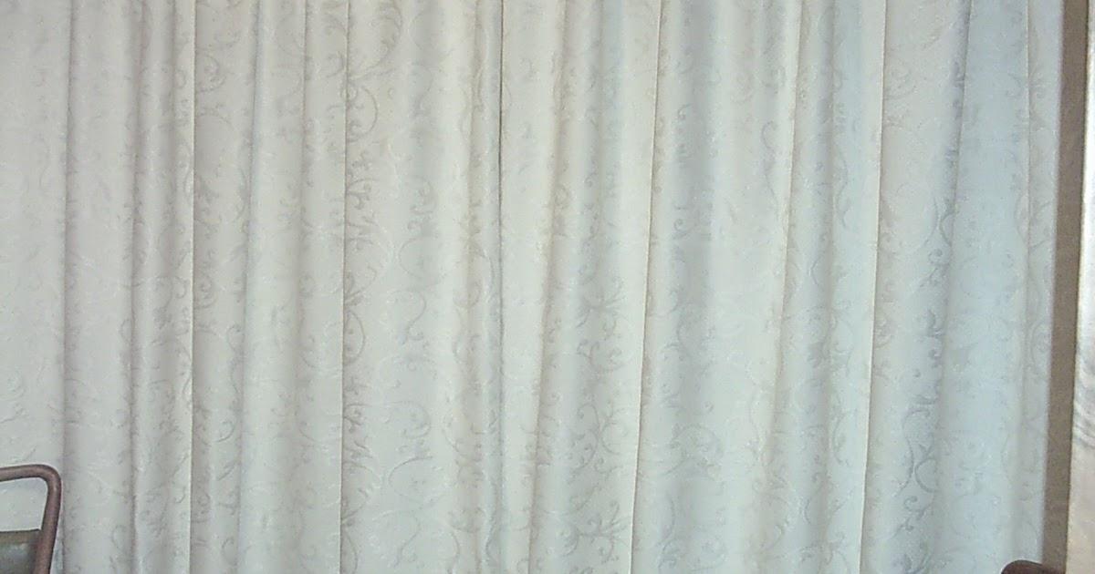 Manualidades cosiendo unas cortinas para barra con for Cortinas para ganchos