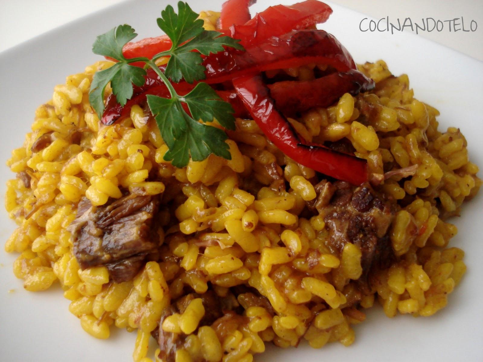 cocin225ndotelo arroz con carne guisada y quotcarmencitaquot