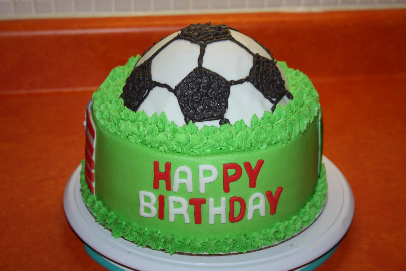 Sweet Pea Cakes: World cup themed birthday cake