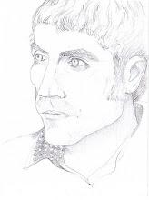retrato hecho por RAQUEL FARIÑAS a PACO
