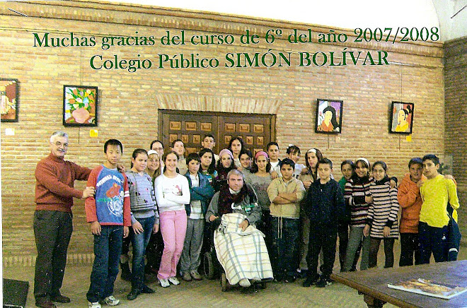 6ºCURSO 2007-2008 Colegio Público SIMÓN BOLIVAR