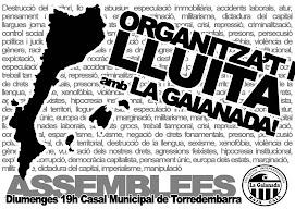Organitza't i lluita amb la Gaianada!