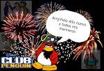 Club penguin te desea feliz año nuevo