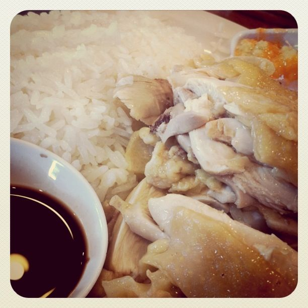 Legendary Hainan Chicken: Not So Legendary at Savoy Kitchen ~ Candid ...