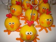 MIs pollos...