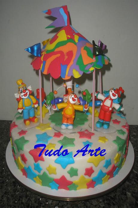 Bolo Circo Feliz!!