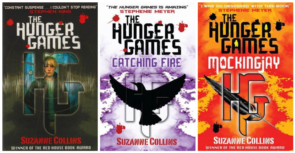 Cool Book Cover Uk : A myriad of books cover vs the hunger games