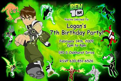 GOT 4 BOYS Logans catchup birthday – Ben Ten Birthday Cards
