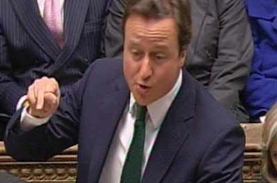 Cameron Wows Parliament By Pulling Helicopter From Anus