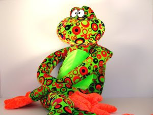 Crazy Colorful Stuffed Animal