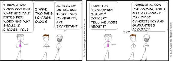 exorbitant quality