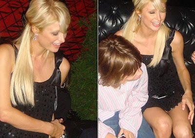 Paris Hilton sin bombachas