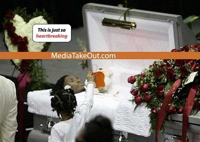 Left Eye Funeral Open Casket
