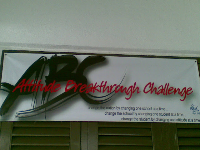 attitude breakthrough challenge